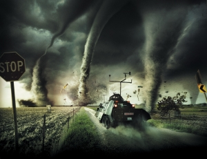 Tornado Alley 3D. © Giant Screen Films