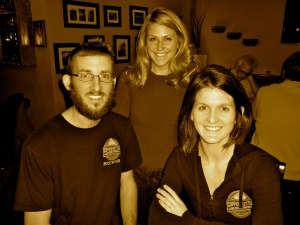 Catch Carri with owners Jeremy Gobien and Kristen Kozik