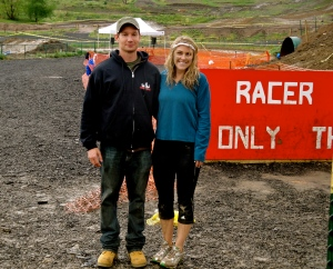 With creator of Rugged Maniac, Rob Dickens